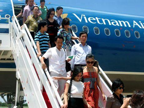 Vietnamairlines bay tu da nang den vinh